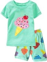 Cczmfeas Girls Pajamas Kids Pjs Children Sleepwear Toddler Clothes Cotton