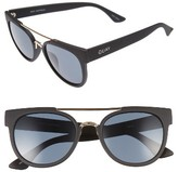 Quay Women's Odin 55Mm Round Sunglasses - Black/ Smoke Lens