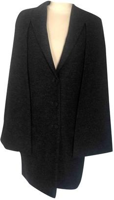 Givenchy Grey Wool Coats