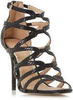 Head Over Heels MEEMI - Strappy Caged High Heel Sandal