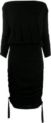 Karl Lagerfeld Paris shirred short dress