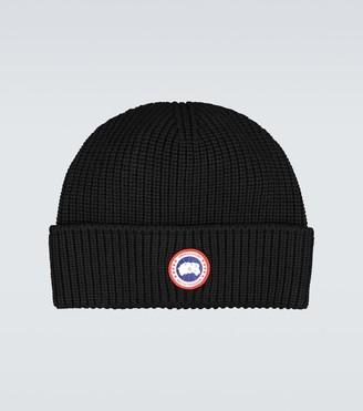 Canada Goose Arctic Disc Toque ribbed hat