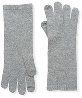 Sofia Cashmere Women's Smartphone Gloves, Grey Flannel