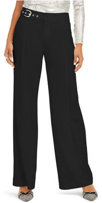 INC International Concepts Inc Side-Belt Wide-Leg Pants