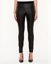 Le Château Leather-Like & Ponte Skinny Pant