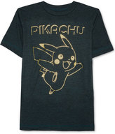 JEM Pikachu Graphic-Print T-Shirt, Big Boys (8-20)