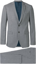 Tonello check formal suit - men - Cupro/Virgin Wool - 48