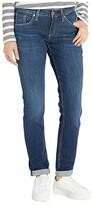 Silver Jeans Co. Boyfriend Mid-Rise Slim Leg Jeans in Indigo L27101SSX365 (Indigo) Women's Jeans