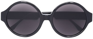 Vera Wang Oversized Round Sunglasses