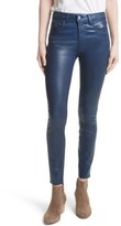 L'Agence Women's Coated High Waist Skinny Jeans