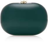 Jeffrey Levinson British Racing Green Elina Gloss Clutch