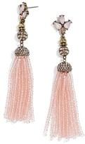 BaubleBar Women's Paidyn Tassel Drop Earrings