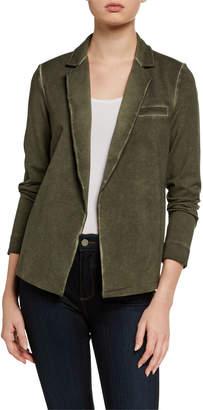 Nic+Zoe Open Front Garment-Dye Blazer