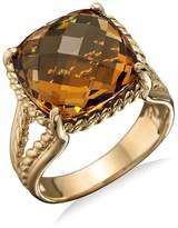 Bloomingdale's 14K Yellow Gold Citrine Ring