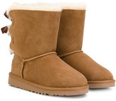 UGG slip-on boots - kids - Leather/Sheep Skin/Shearling/Suede/rubber - 23