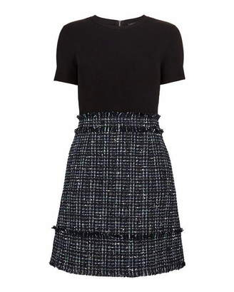 Ted Baker Fearnic Boucle Short Sleeved Dress