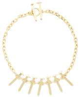 Giles & Brother Railroad Spike Bib Necklace