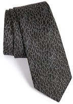 Lanvin Men's Jacquard Silk Tie
