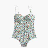 J.Crew Underwire one-piece swimsuit in Liberty® Edenham floral