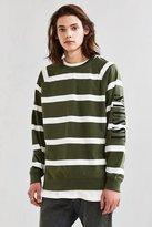 Stussy Striped Crew Neck Sweatshirt