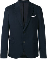 Neil Barrett denim blazer - men - Cotton/Polyester/Virgin Wool - 52