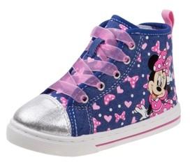 Josmo Disney Minnie Mouse Toddler Girls Canvas