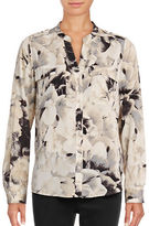 Calvin Klein Roll Sleeve Printed Tunic