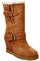 Australia Luxe Collective Women's Luxe Machina Suede Wedge Boot.