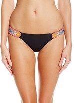 Mara Hoffman Women's Embellished Side-Strap Bikini Bottom