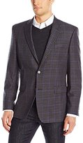 Tommy Hilfiger Men's Ethan Two Button Check Sport Coat
