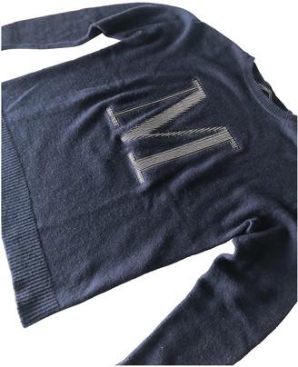 Fabiana Filippi Blue Cashmere Knitwear
