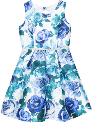 Speechless Girls 7-16 Floral Print Bubble Dress