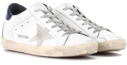 Golden Goose Deluxe Brand Superstar leather sneakers