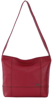 The Sak 108396SCA De Young Leather Zip Top Shoulder Bag