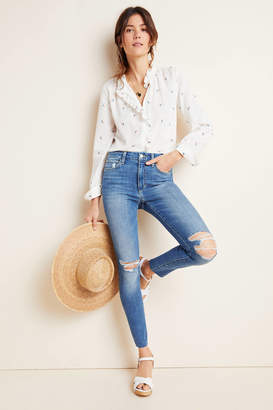 Joe's Jeans The Honey High-Rise Distressed Skinny Jeans