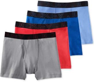 Jockey Men 4-Pack Active Blend Boxer Brief