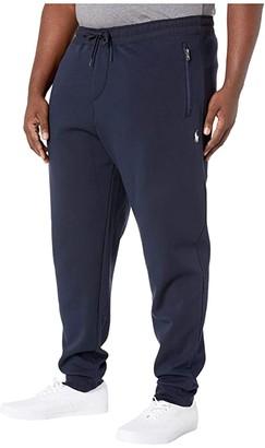 Polo Ralph Lauren Big & Tall Big Tall Double Knit Tech Pants (Aviator Navy) Men's Casual Pants