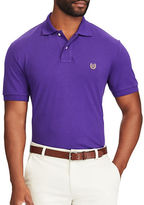 Chaps Big and Tall Stretch Mesh Polo