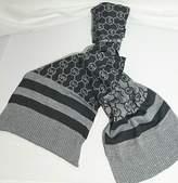Michael Kors Metalic Scarf Circle Logo Dazzling Knit