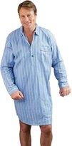 i-Smalls Men's Brushed Cotton Striped Nightshirt (2XL)