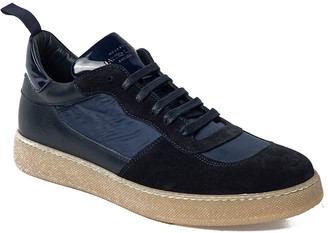 Jared Lang Verona Suede Low Top Sneaker