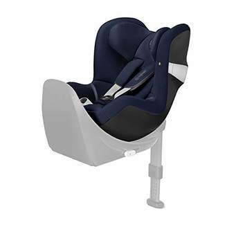 Camilla And Marc CYBEX Gold Sirona M2 i-Size Car Seat, Base M not included, From Birth to approx. 4 years, Up to Max. 105 cm Height, Denim Blue