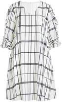Steffen Schraut Chain Print Silk Dress