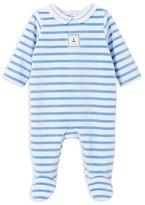 Jacadi Infant Boys' Striped Footie - Sizes 1-6 Months