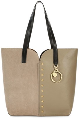 See by Chloe Gaia Mixed Leather Tote