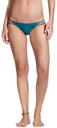 Vix Women's Solid Piercing Full Bikini Bottom