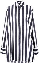 Marques Almeida Marques'almeida - striped shirt - women - Cotton - XS