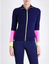 Monreal London Performance Fleece stretch-jersey jacket