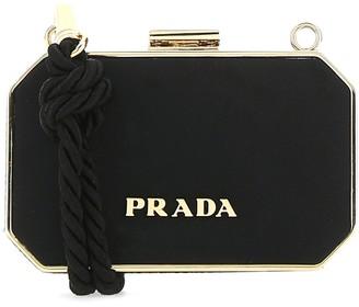 Prada Logo Mini Clutch Bag