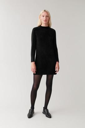 Cos Fuzzy Textured Dress
